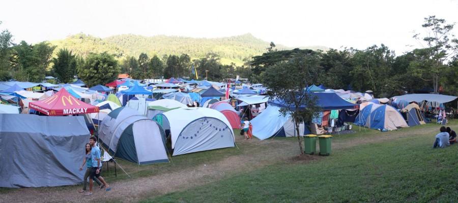 camping at winermoon