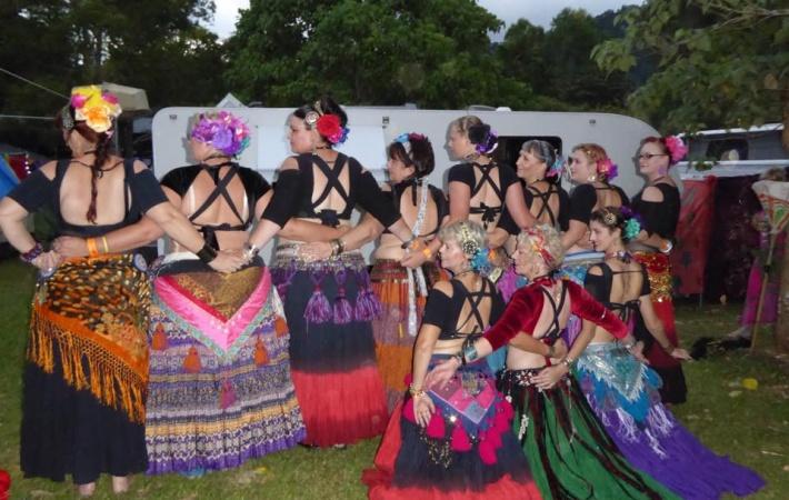 embellish belly dancers